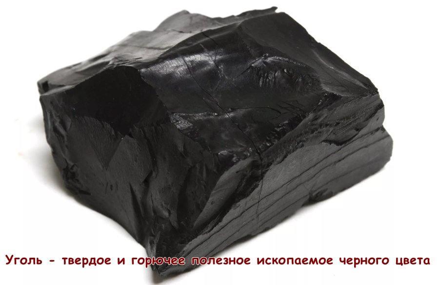 Практическая работа описание угля