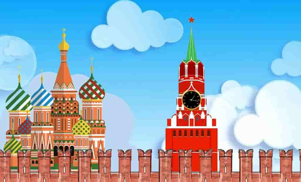 Кремль москва картинки для детей