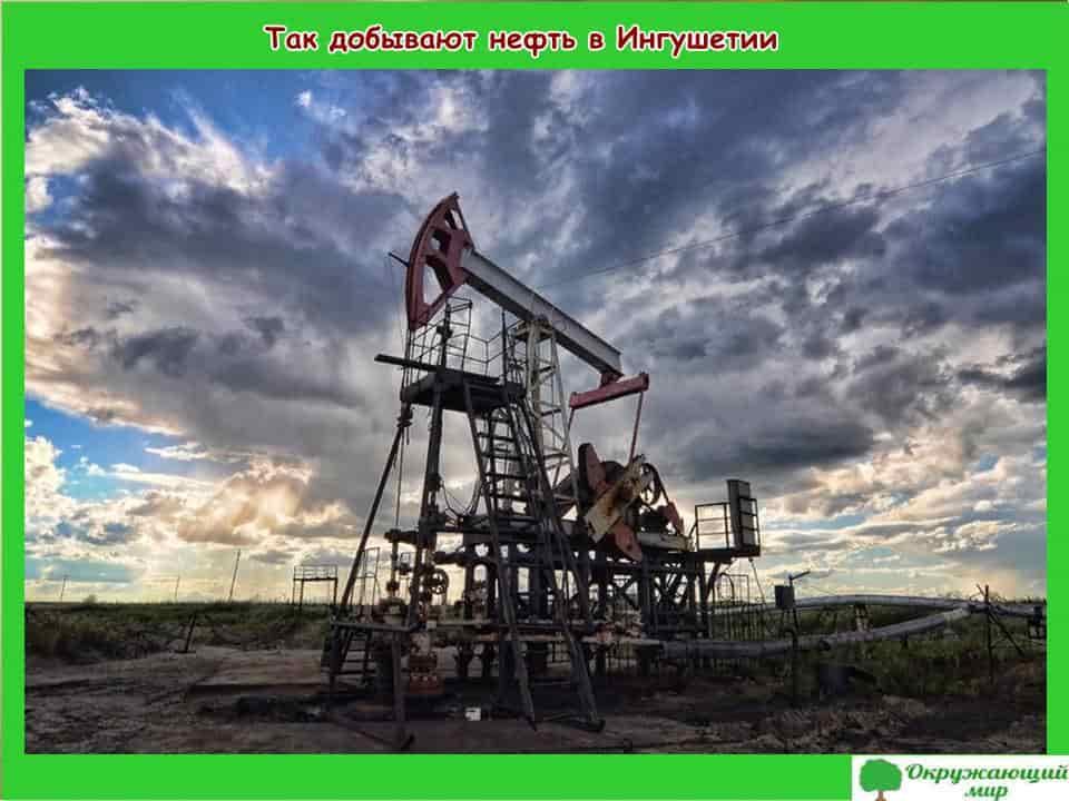 Так добывают нефть в Ингушетии