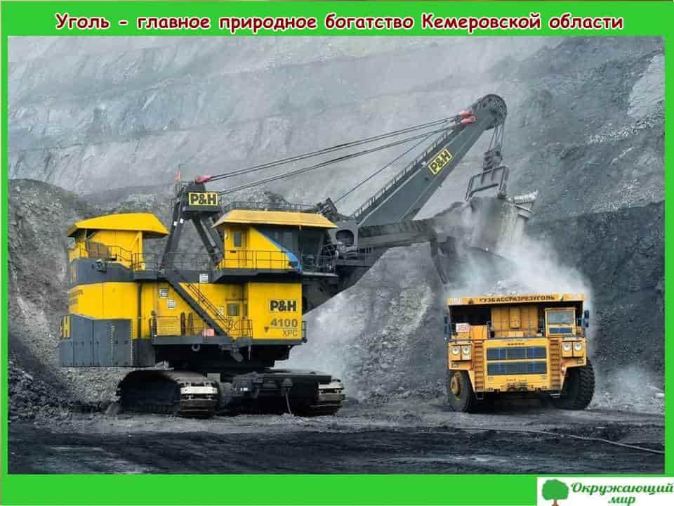 Уголь-Главное богатство Кемеровской области
