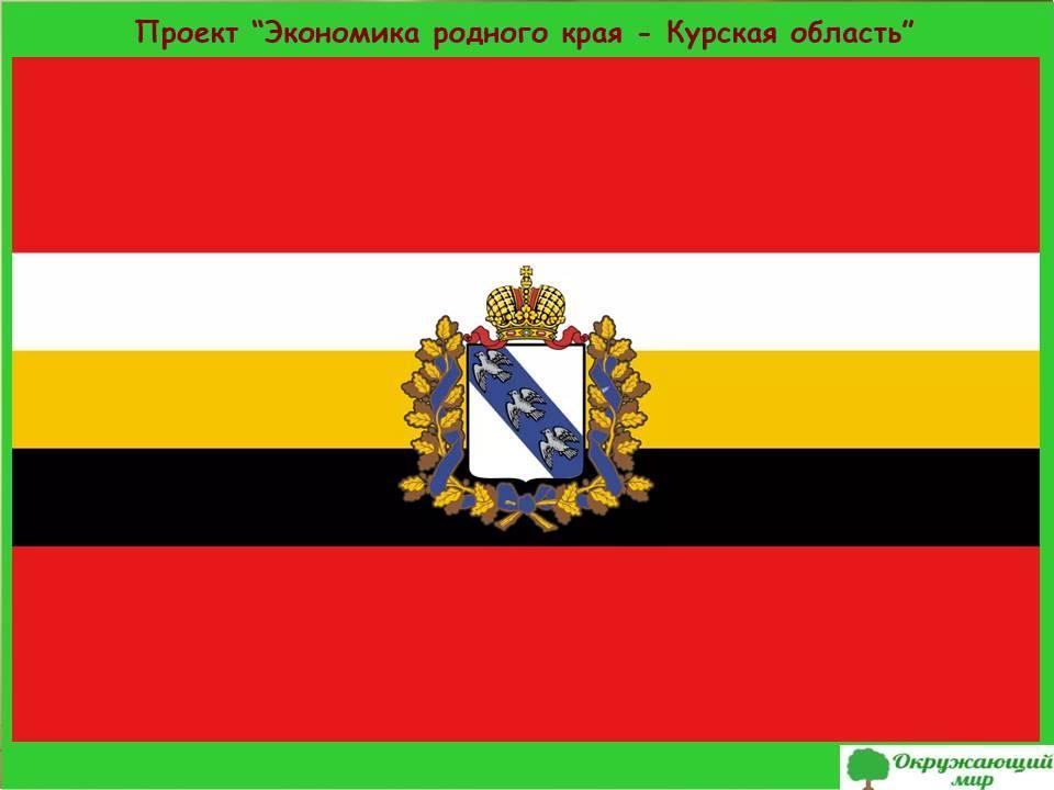 Проект Экономика родного края-Курская область