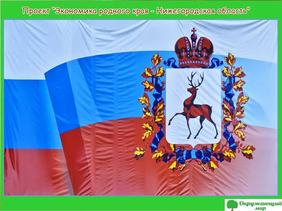 Проект Экономика родного края-Нижегородская область