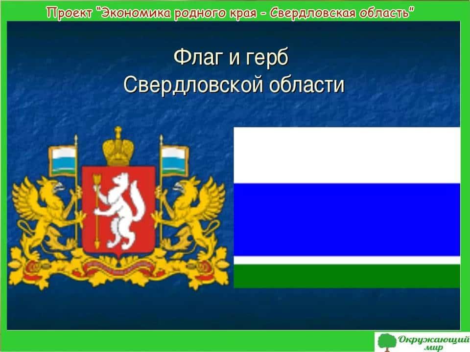 Проект Экономика родного края-Свердловская область
