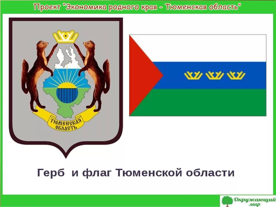 Проект Экономика родного края-Тюменская область