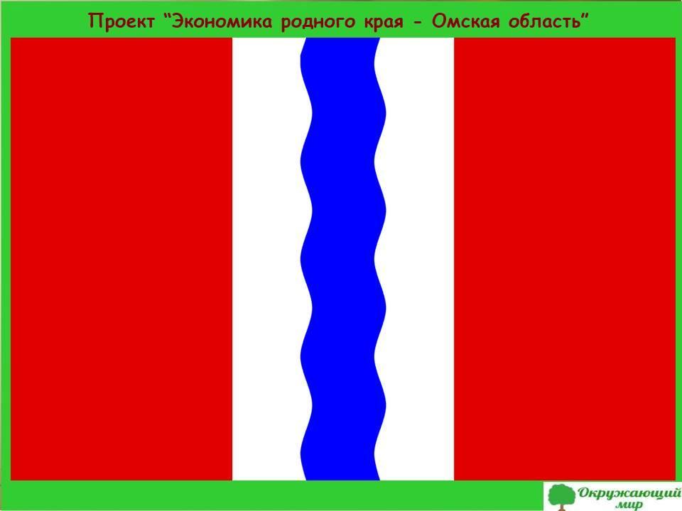 Проект экономики родного края-Омская область