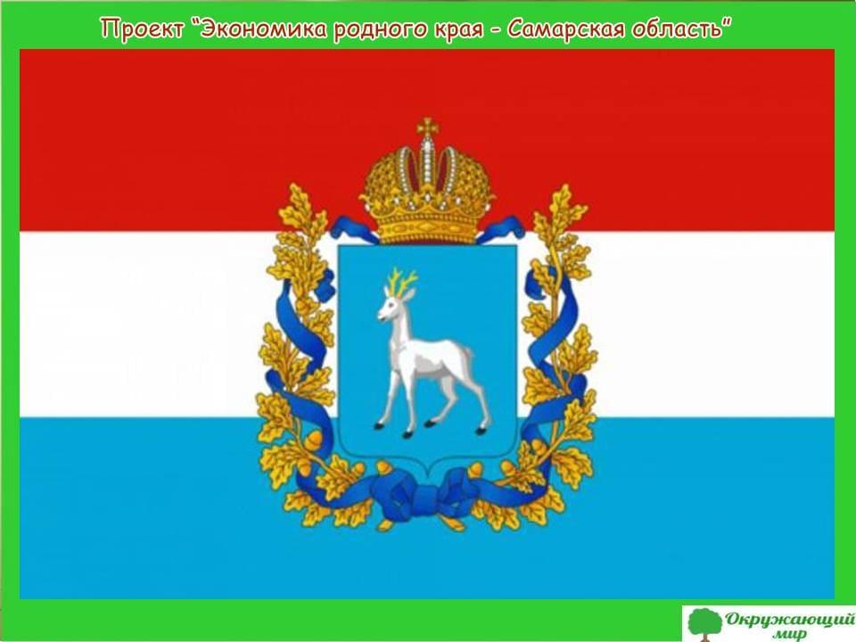 Проект экономики родного края-Самарская область