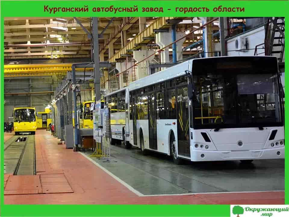 Курганский автобусный завод-гордость области