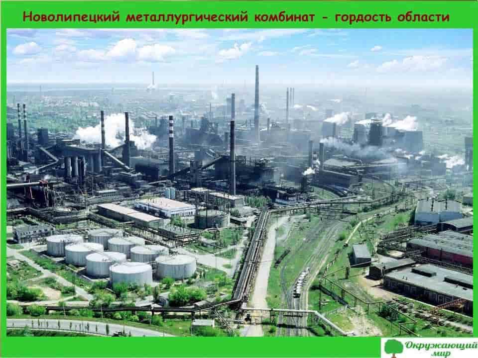 Новолипецкий металлургический комбинат-гордость области