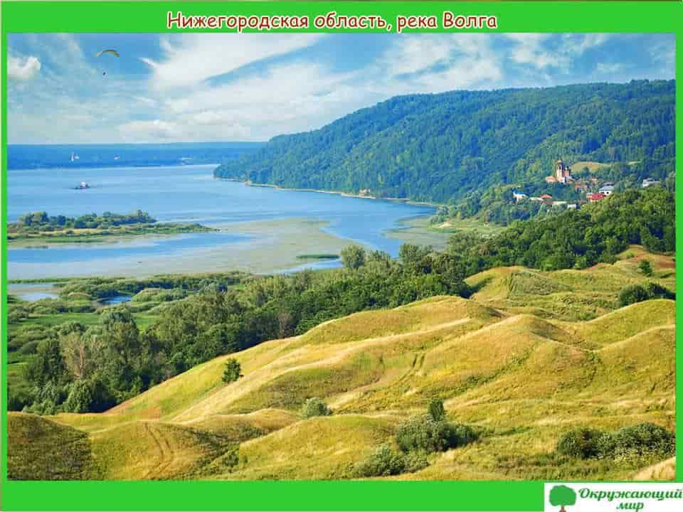 Нижегородская область-река Волга