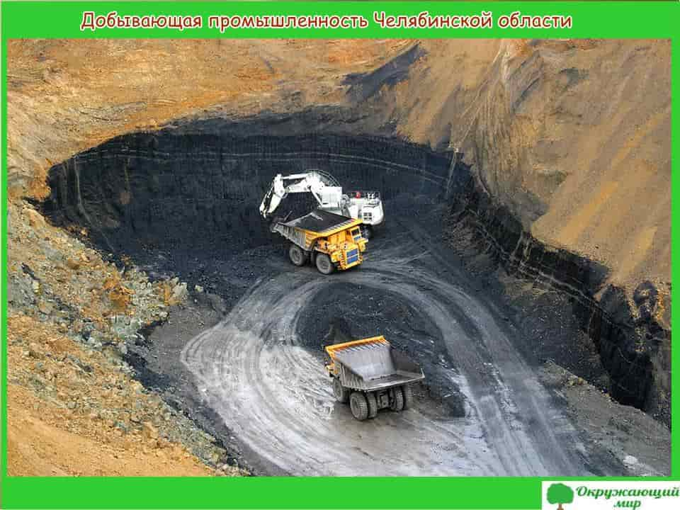 Добывающая промышленность Челябинской области