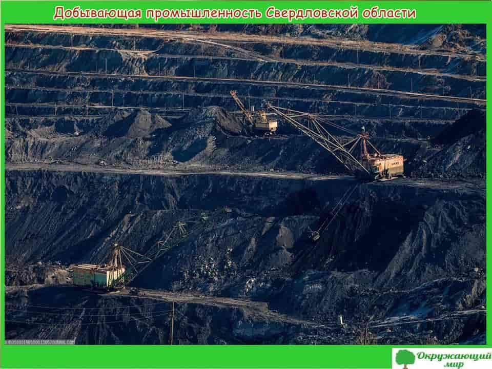 Добывающая промышленность Свердловской области