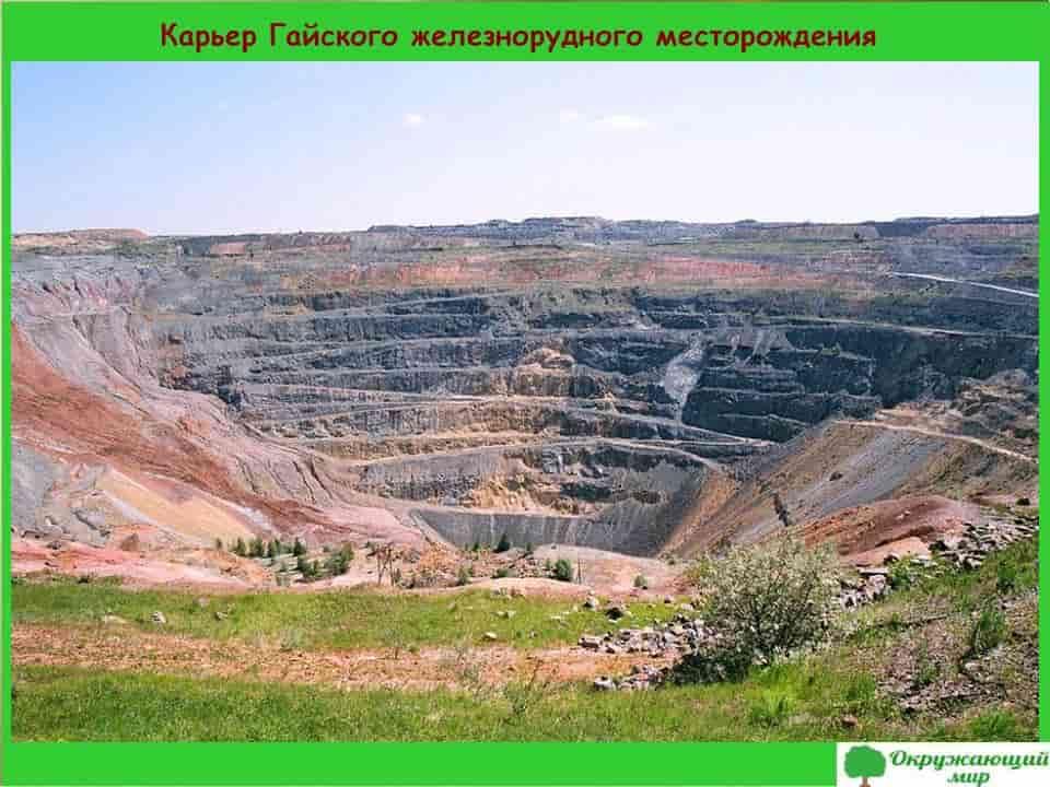 Карьер Гайского железнорудного месторождения