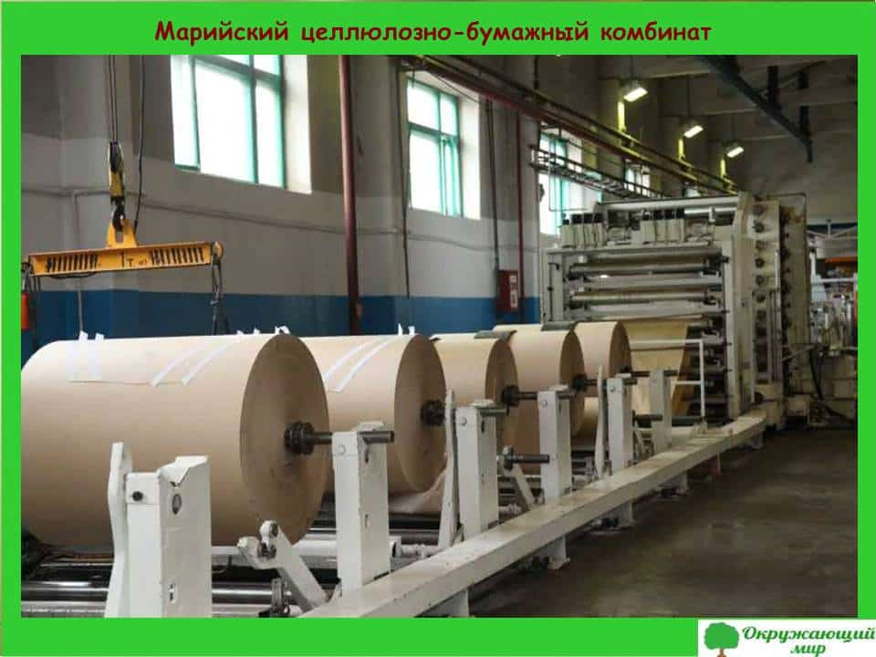 Марийский целлюлозно-бумажный комбинат