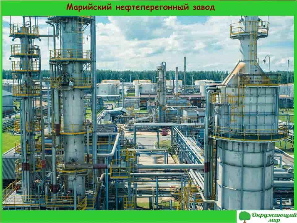 Марийский нефтеперегонный завод