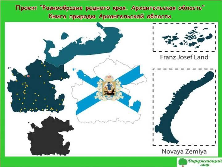 Проект разнообразие природы родного края Архангельская область