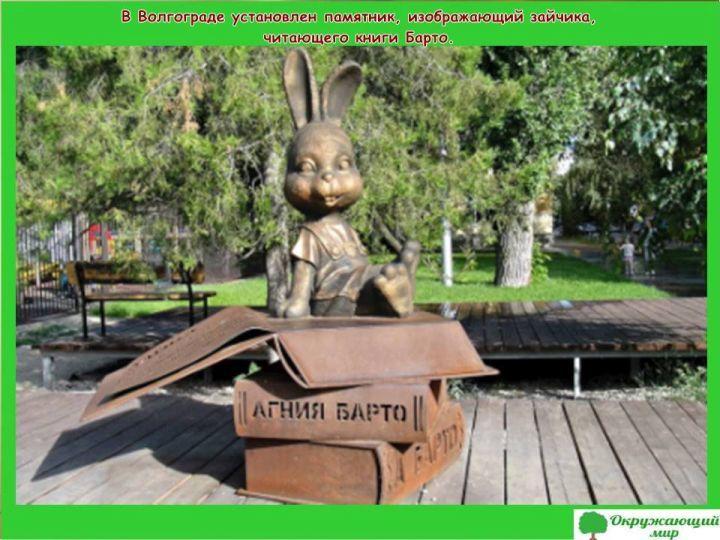 Памятник Агнии Барто