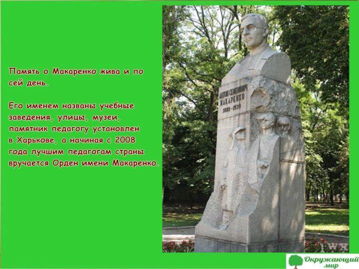 Памятник Макаренко