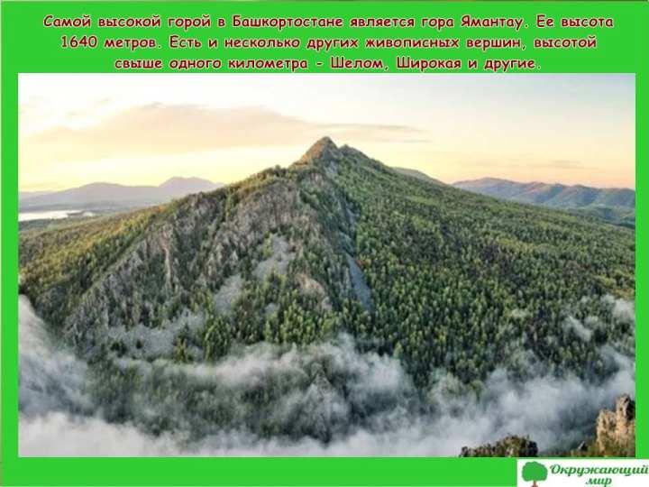Самая высокая гора Башкортстана