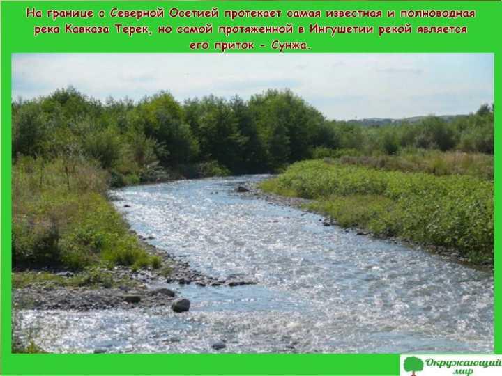 Реки Ингушетии