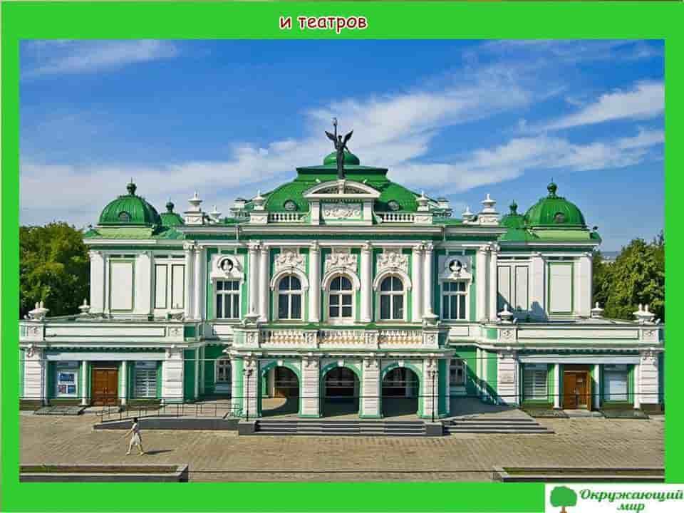 театры Омска