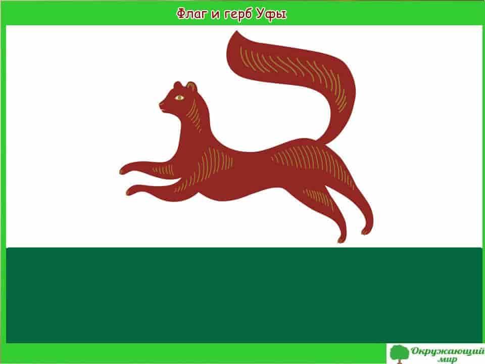 Флаг и герб Уфы