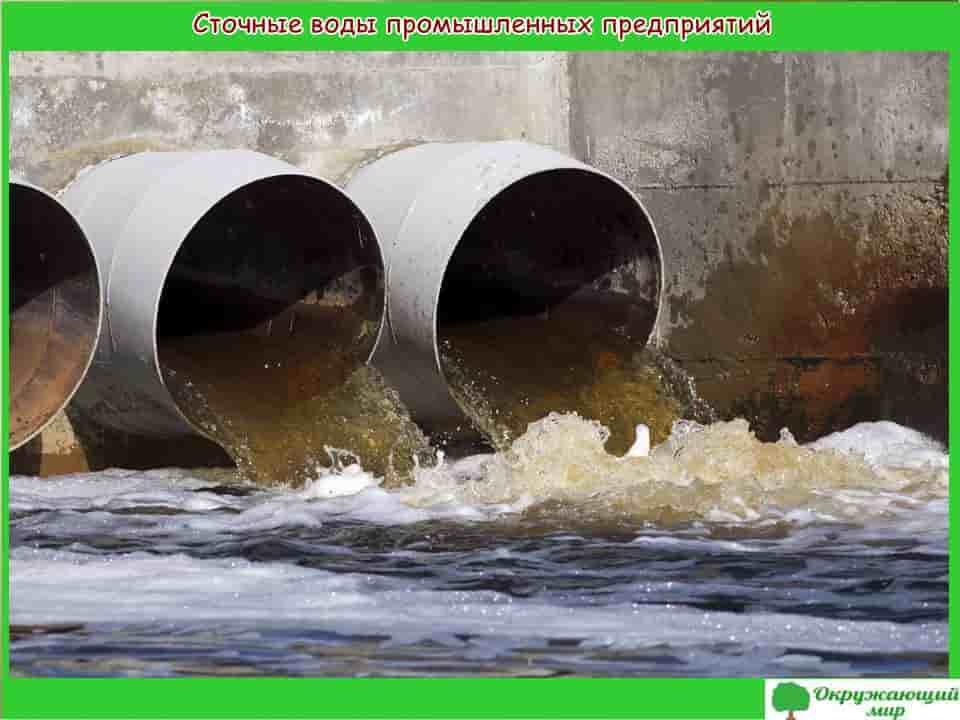 Сточные воды промышленных предприятий