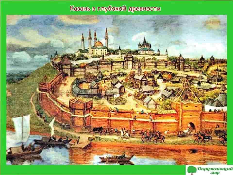 Казань в глубокой древности