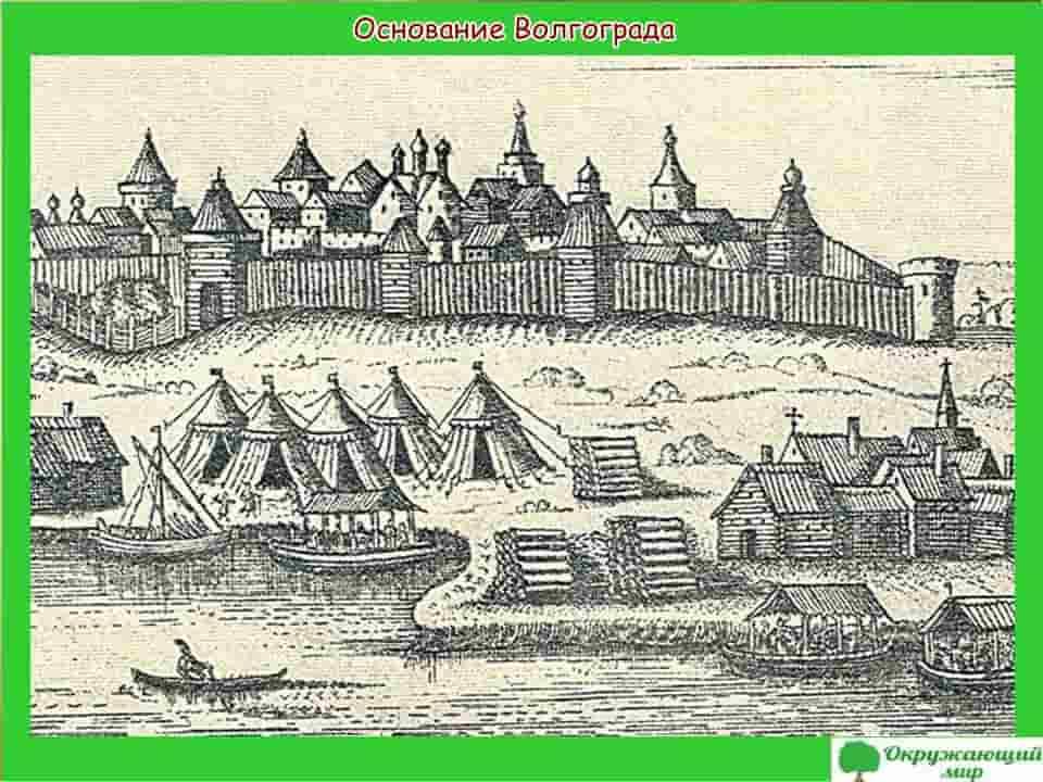Основание Волгограда