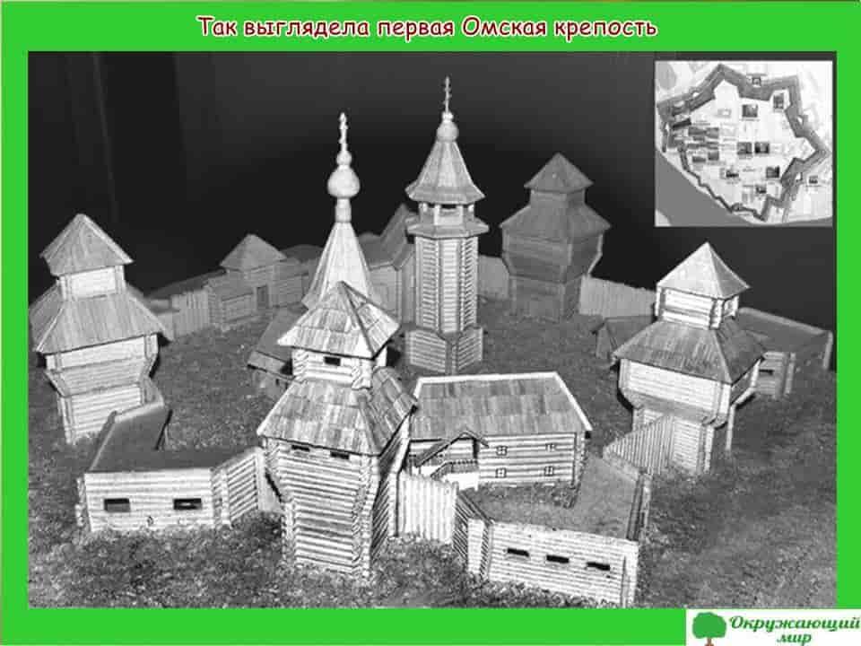 Первая Омская крепость
