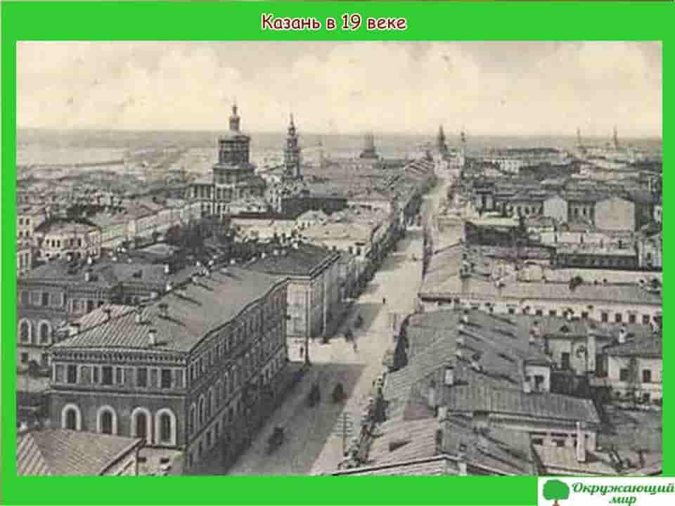 Казань в 19 веке
