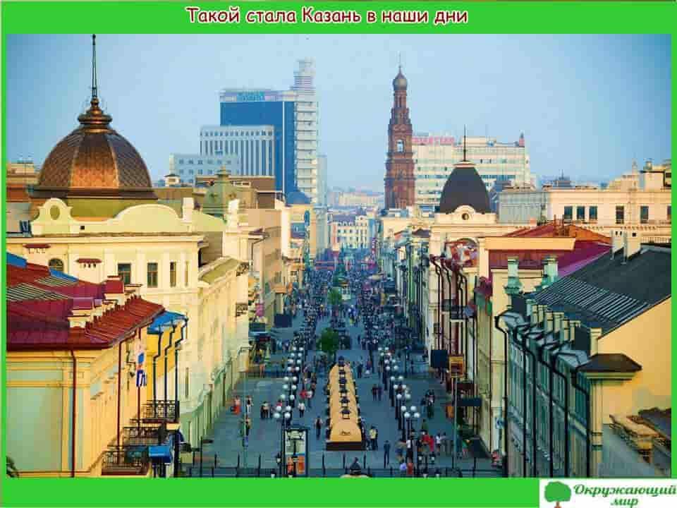 Казань в наши дни