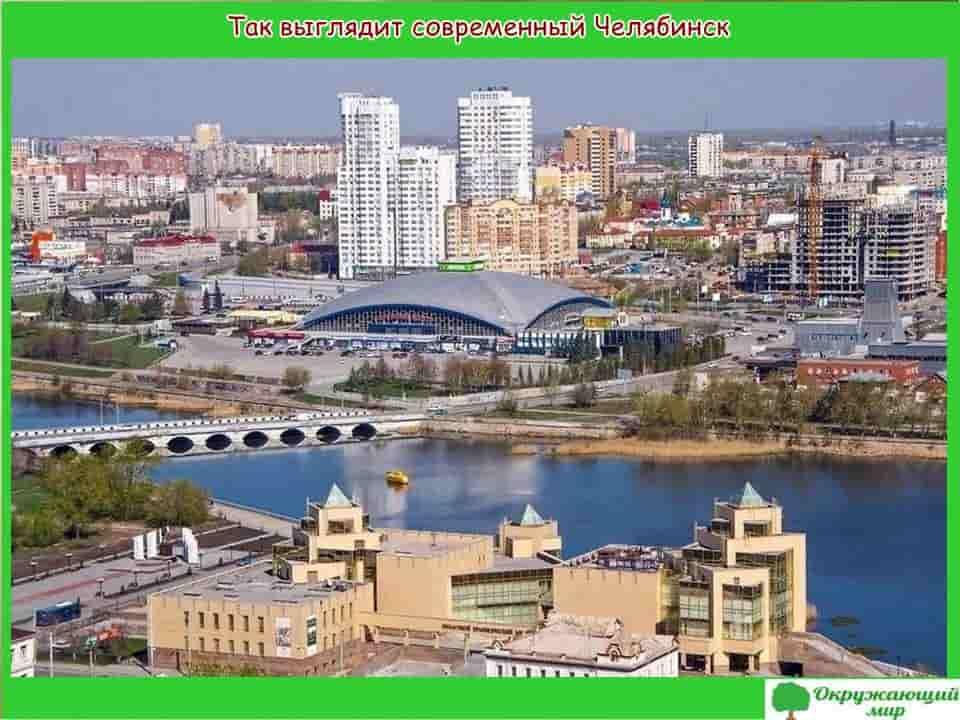 Окружающий мир 2 класс 1 часть. Проект «Мой родной город — Челябинск» 6
