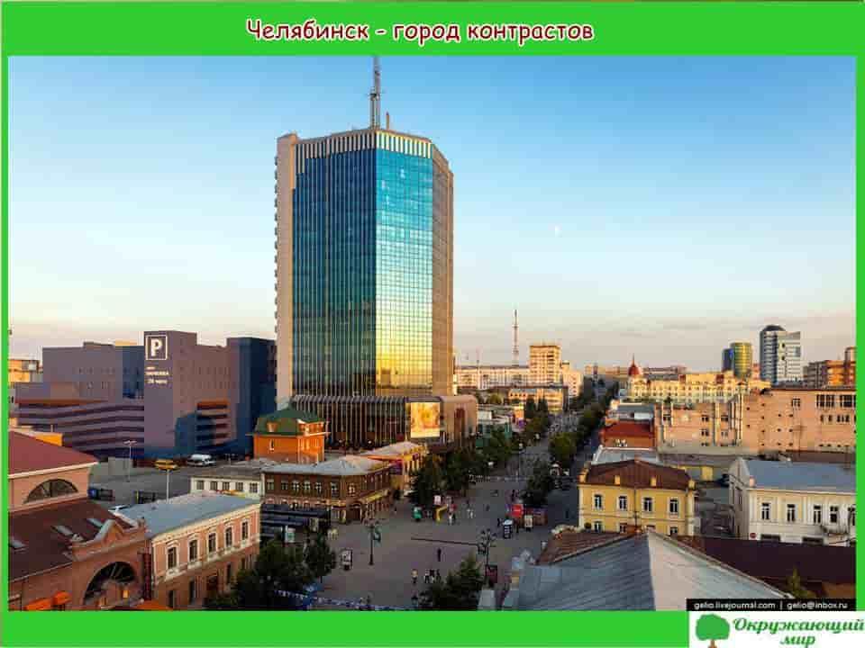 Окружающий мир 2 класс 1 часть. Проект «Мой родной город — Челябинск» 7