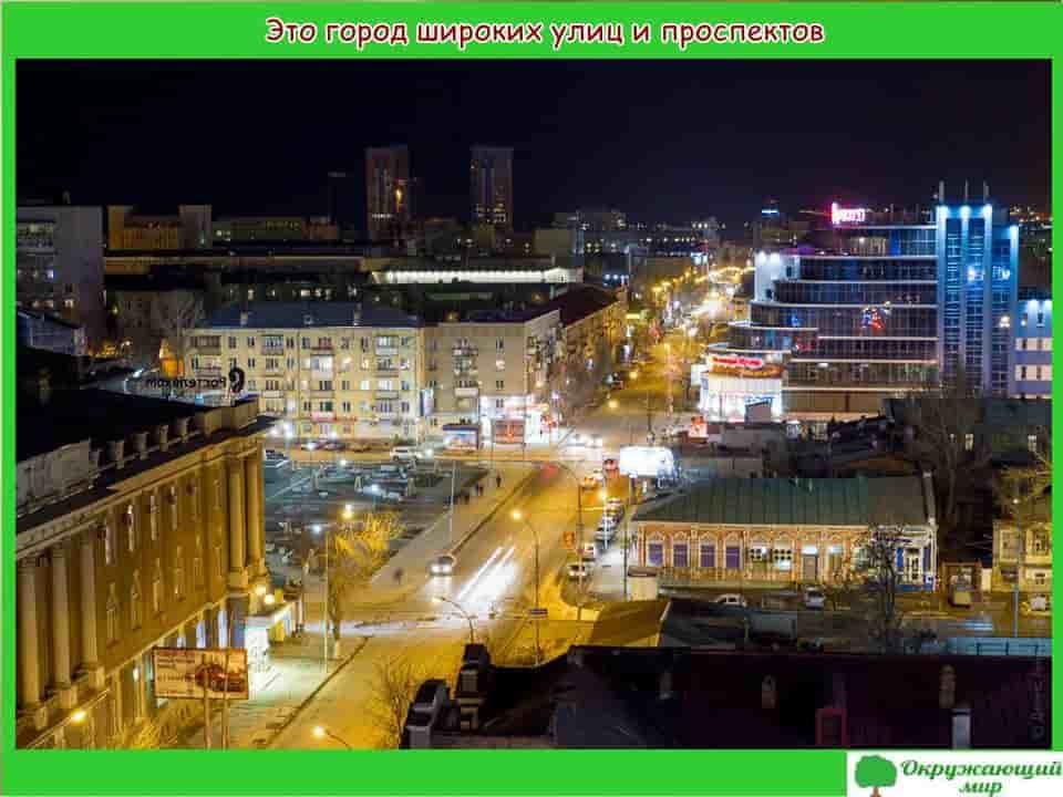Саратов город широких улиц и проспектов