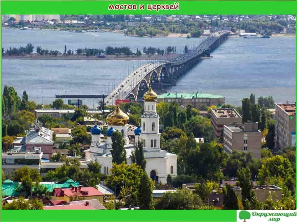 Саратов город мостов и церквей