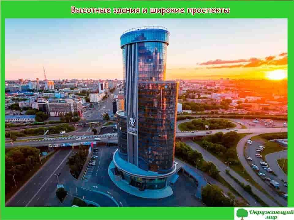 Окружающий мир 2 класс 1 часть. Проект «Мой родной город — Челябинск» 8