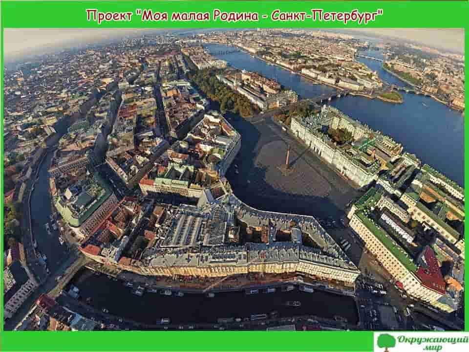 Проект Моя малая Родина - Санкт Петербург