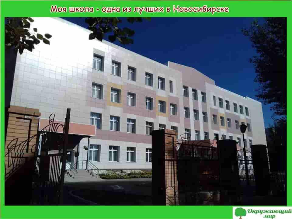 Моя школа в Новосибирске