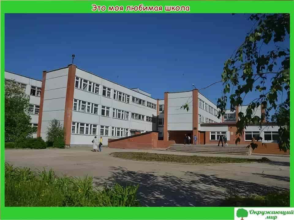 Окружающий мир 1 класс 1 часть. Проект «Моя малая Родина — Московская область» 11