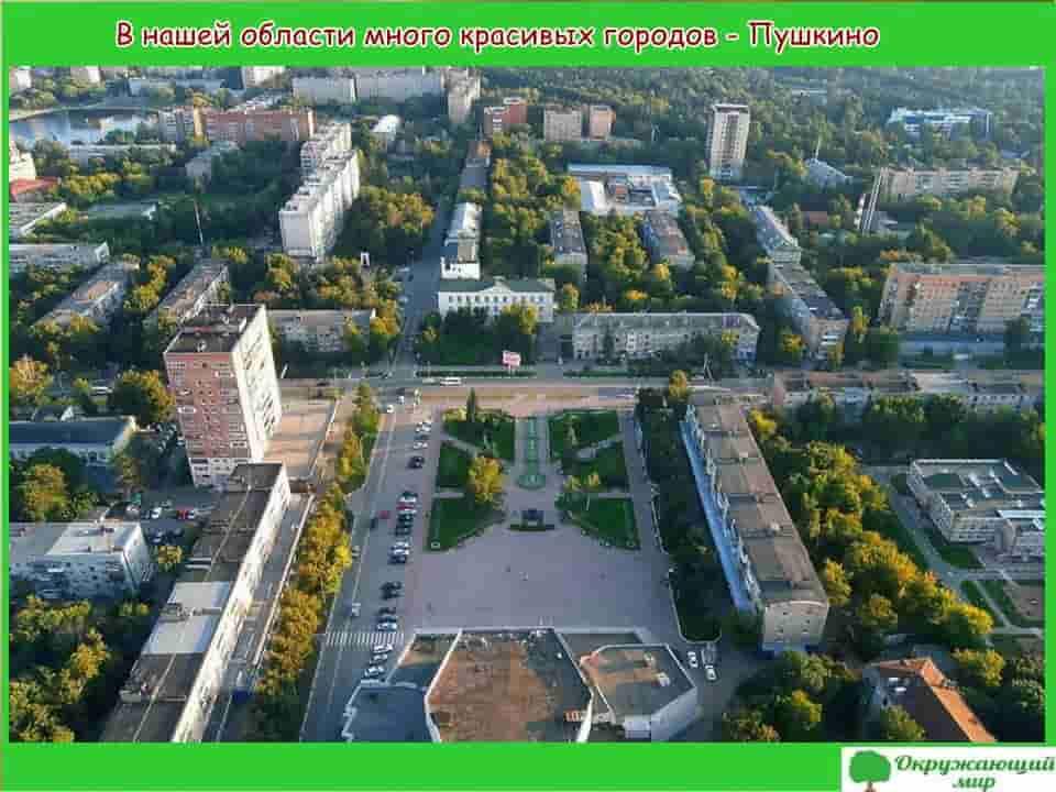 Окружающий мир 1 класс 1 часть. Проект «Моя малая Родина — Московская область» 3
