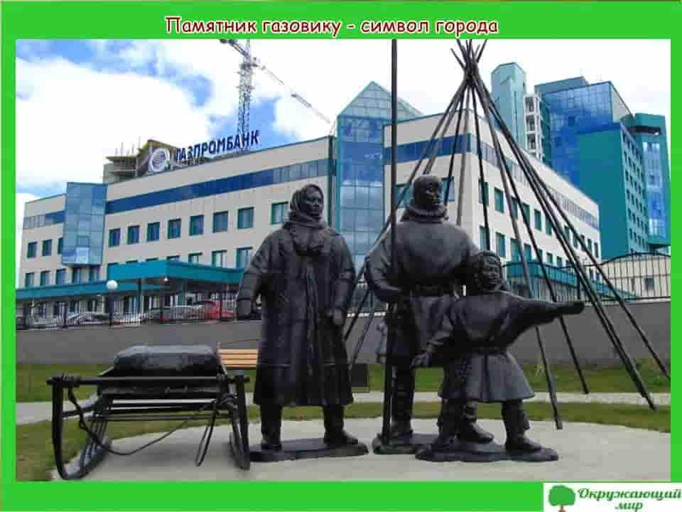 Памятник газовику символ города