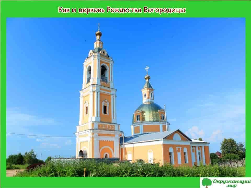 Окружающий мир 1 класс 1 часть. Проект «Моя малая Родина — Московская область» 9