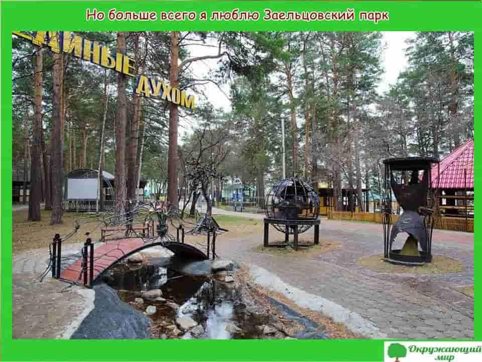 Заельцовский парк Новосибирска