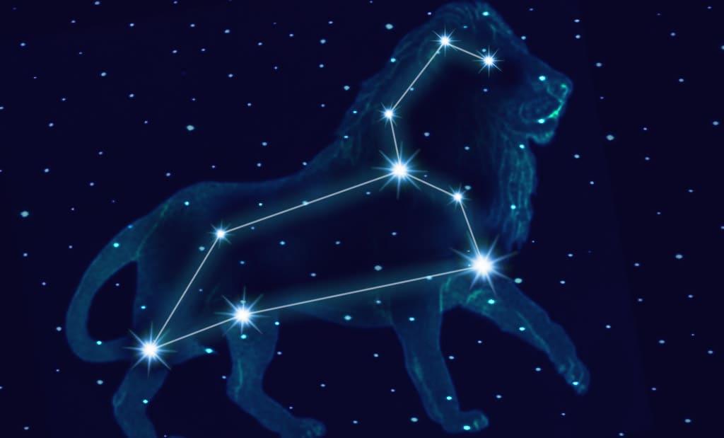 Модель созвездия Льва