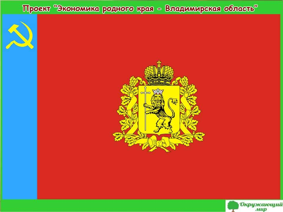 Проект экономика Владимирской области