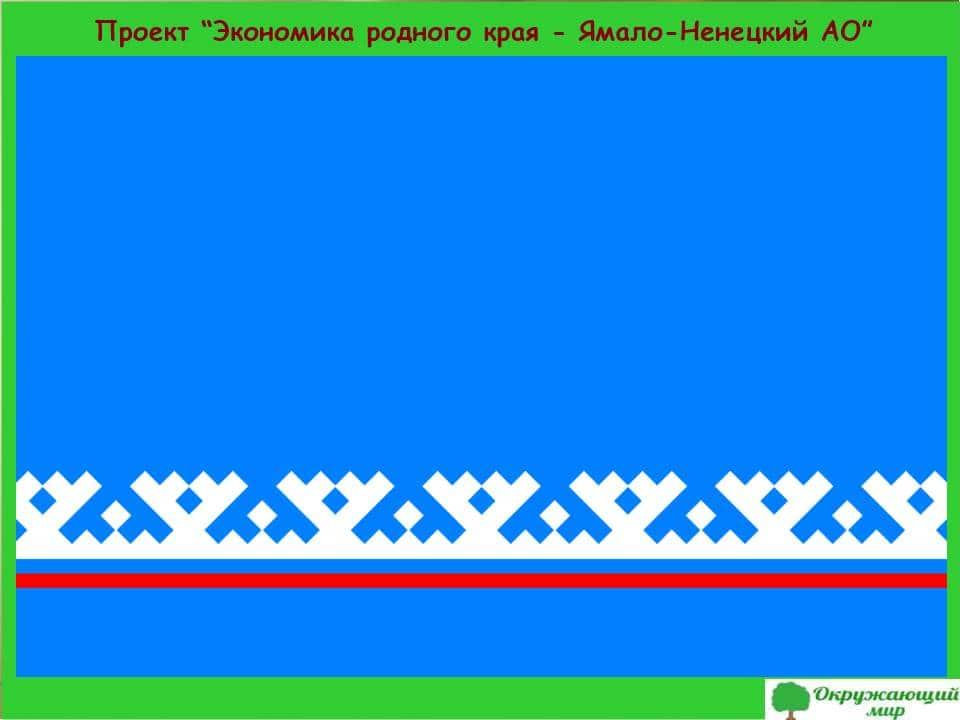 Проект экономика Ямало Ненецкого края