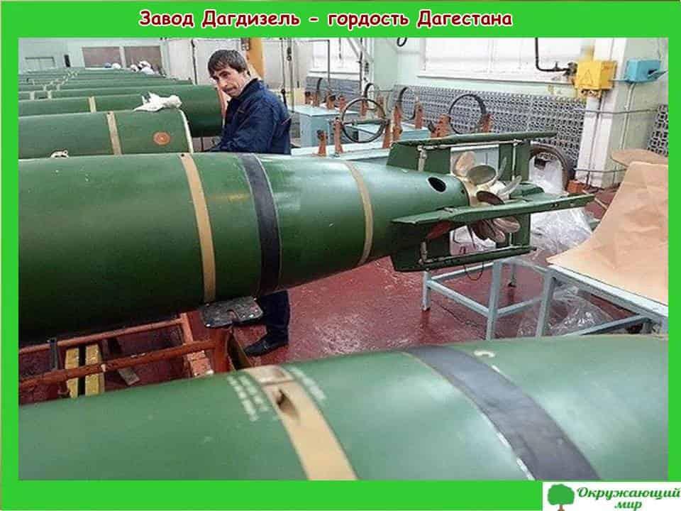 Завод Дагдизель гордость Дагестана