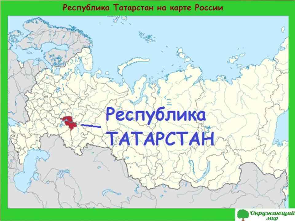 "Проект ""Экономика родного края. Республика Татарстан"""