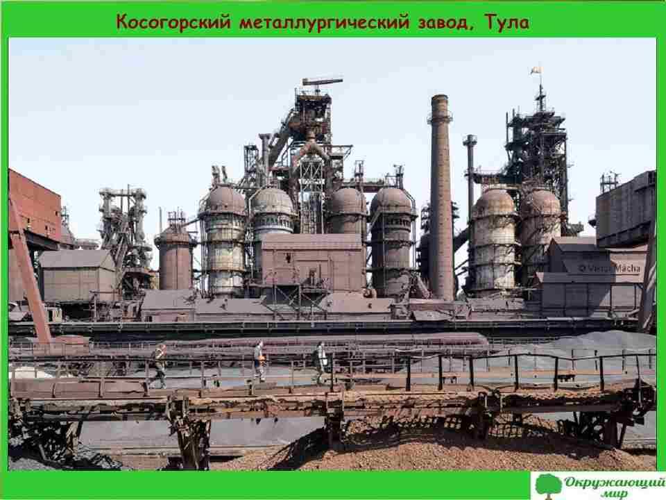 """Проект """"Экономика родного края. Тульская область"""""""