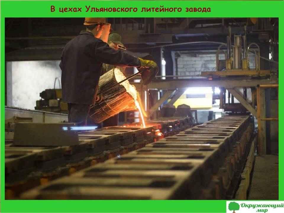 """Проект """"Экономика родного края. Ульяновская область"""""""